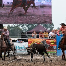 Yarra Valley Rodeo 2020 - Team Roping - Sect 2