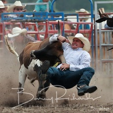 Yarra Valley Rodeo 2020 - Steer Wrestling - Sect 2
