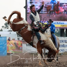 Yarra Valley Rodeo 2020 - Open Bareback Bronc Ride - Sect 1