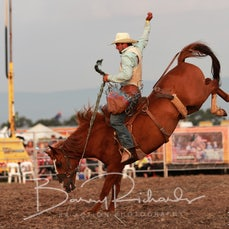 Yarra Valley Rodeo 2020 - Open Saddle Bronc - Sect 1