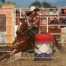 Yarra Valley Rodeo 2020 - Open Barrel Race - Sect 2