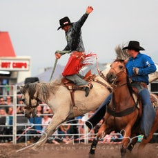 Yarra Valley Rodeo 2020 - 2nd Div Saddle Bronc - Sect 1