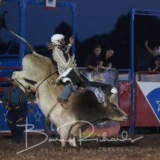 Yarra Valley Rodeo 2020 - 2nd Div Bull Ride - Sect 3
