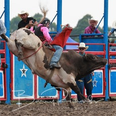 Yarra Valley Rodeo 2020 - 2nd Div Bull Ride - Sect 1