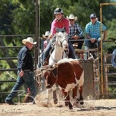 Neerim Rodeo 2020 - Junior Breakaway Roping - Slack 1