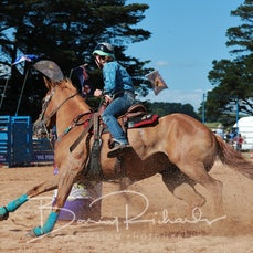 Neerim Rodeo 2019 - Junior Barrel Race - Slack 1