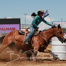 Wagga Wagga Rodeo 2020 - Open Barrel Race - Slack 1