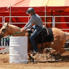 Wagga Wagga Rodeo 2020 - Junior Barrel Race - Slack 1