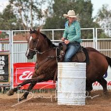Wagga Wagga Rodeo 2020 - Open Barrel Race - Sect 1