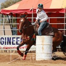 Wagga Wagga Rodeo 2020 - Junior Barrel Race - Sect 1