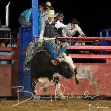 Wagga Wagga Rodeo 2020 - Open Bull Ride - Sect 1