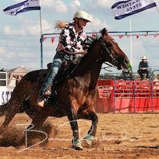 Wagga Wagga Rodeo 2020 - Junior Barrel Race - Sect 2