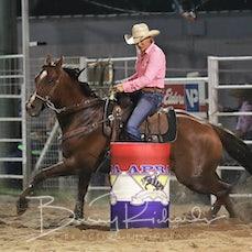 Narrandera Rodeo 2020 - Open Barrel Race - Sect 1