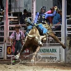 Narrandera Rodeo 2020 - Open Bull Ride - $1000 Chute Out