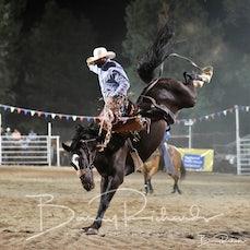 Narrandera Rodeo 2020 - Open Saddle Bronc - Sect 2