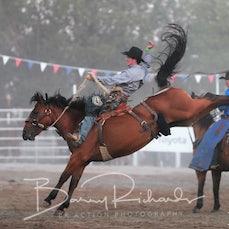 Narrandera Rodeo 2020 - Open Saddle Bronc - Sect 1
