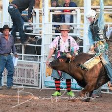 Narrandera Rodeo 2020 - 2nd Div Bull Ride - Sect 1
