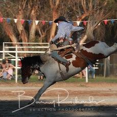 Narrandera Rodeo 2020 - 2nd Div Saddle Bronc - Sect 1