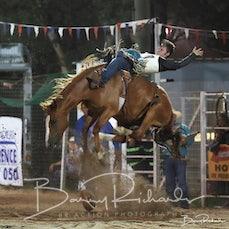 Narrandera Rodeo 2020 - Open Bareback - Sect 1