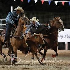 Narrandera Rodeo 2020 - Steer Wrestling - Sect 2