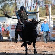 Narrandera Rodeo 2020 - Junior Steer Ride - Sect 1