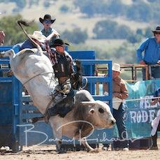 Merrijig Rodeo 2020 - 2nd Div Bull Ride- Slack 1
