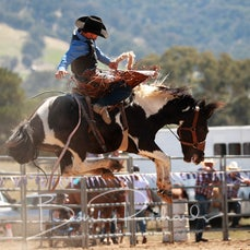 Merrijig Rodeo 2020 - Open Saddle Bronc - Slack 1