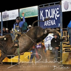 Chiltern Rodeo 2020 - Open Bull Ride - Sect 1