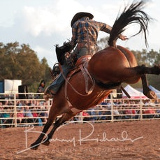 Chiltern Rodeo 2020 - Open Saddle Bronc - Sect 1