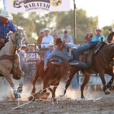 Chiltern Rodeo 2020 - Steer Wrestling - Sect 1