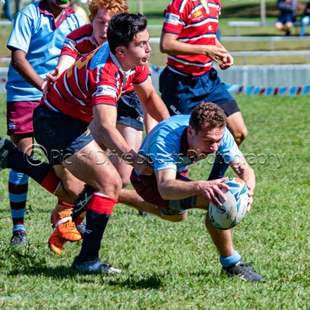 Chev v Redfield May 4 - Round 1 of the ISA Div II rugby competition.
