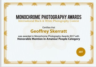 Awards & Mentions - Photographic Achievements & Awards