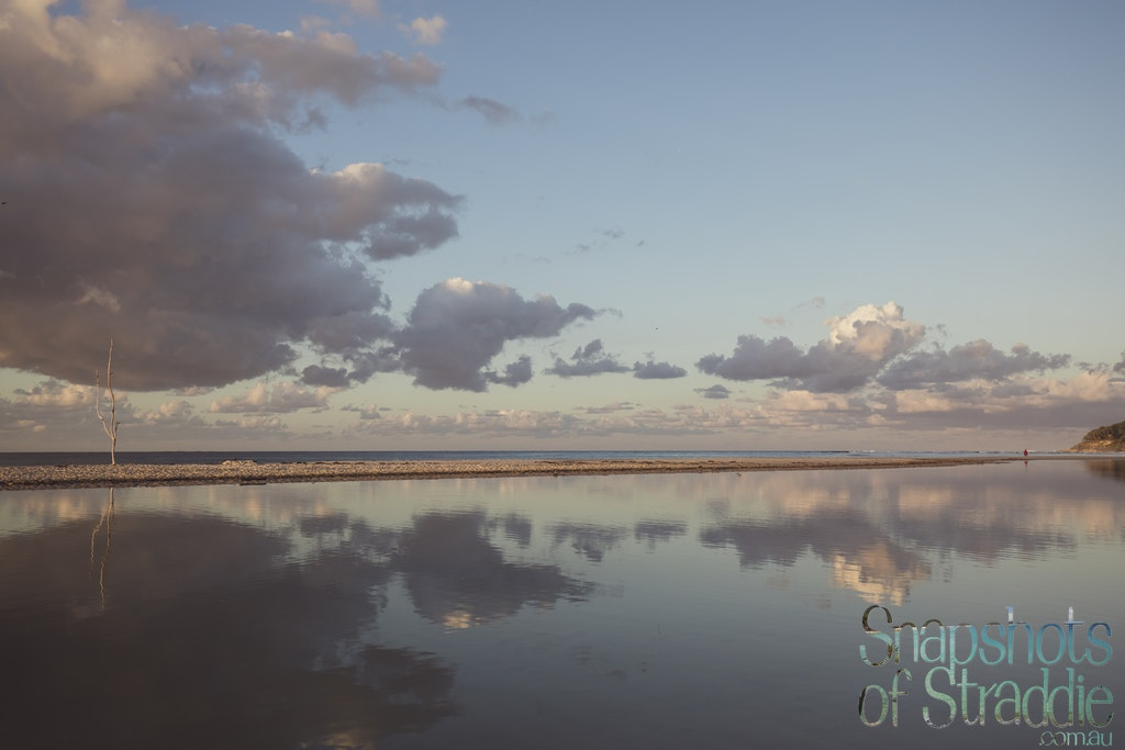 Home Beach Lagoon at sunset - Snapshots of Straddie. Wall Art Landscape and Seascape Photography by Julie Sisco. Photos from North Stradbroke Island, Queensland,...