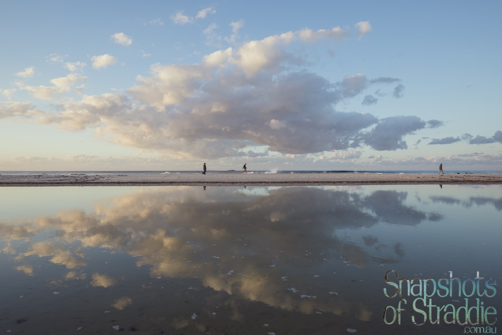 Mirror Mirror on the beach - Snapshots of Straddie. Wall Art Landscape and Seascape Photography by Julie Sisco. Photos from North Stradbroke Island, Queensland,...