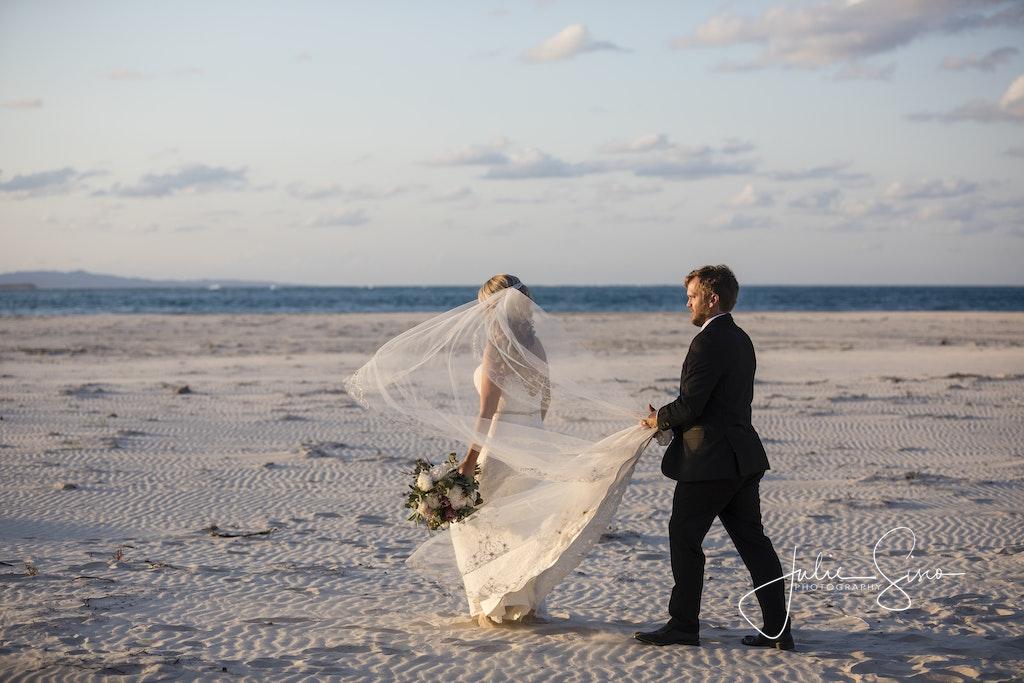 Alanna & Ben's Wedding - Alanna & Ben's Wedding. Amity waterfront and Flinders Beach, Amity Point, North Stradbroke Island. Celebrant Sheryl Gotje. Photography...