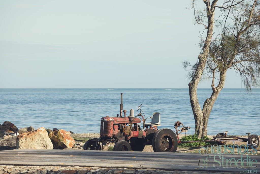 Old Tractor - Snapshots of Straddie. Wall Art Landscape and Seascape Photography by Julie Sisco. Photos from North Stradbroke Island, Queensland, Australia....