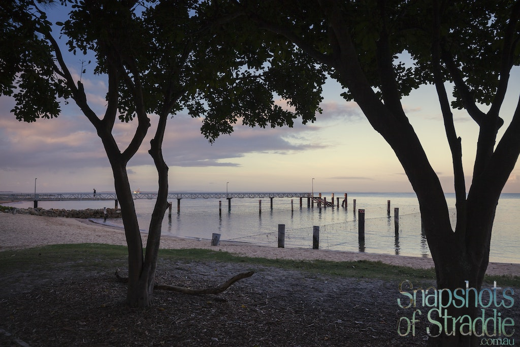 Amity jetty early pastels - Snapshots of Straddie. Wall Art Landscape and Seascape Photography by Julie Sisco. Photos from North Stradbroke Island, Queensland,...