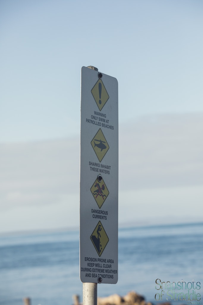 Warning warning warning - Snapshots of Straddie. Wall Art Landscape and Seascape Photography by Julie Sisco. Photos from North Stradbroke Island, Queensland,...