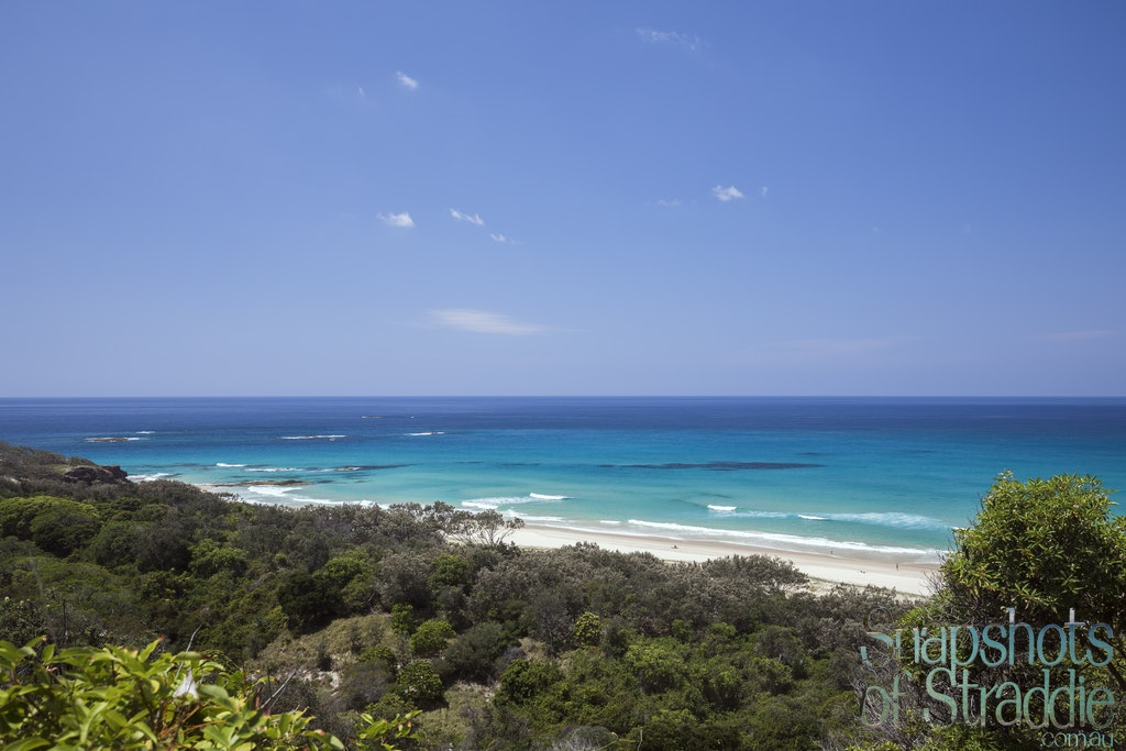 The View over Frenchmans - The View over Frenchmans Beach, Point Lookout.  Snapshots of Straddie. Wall Art Landscape and Seascape Photography by Julie...