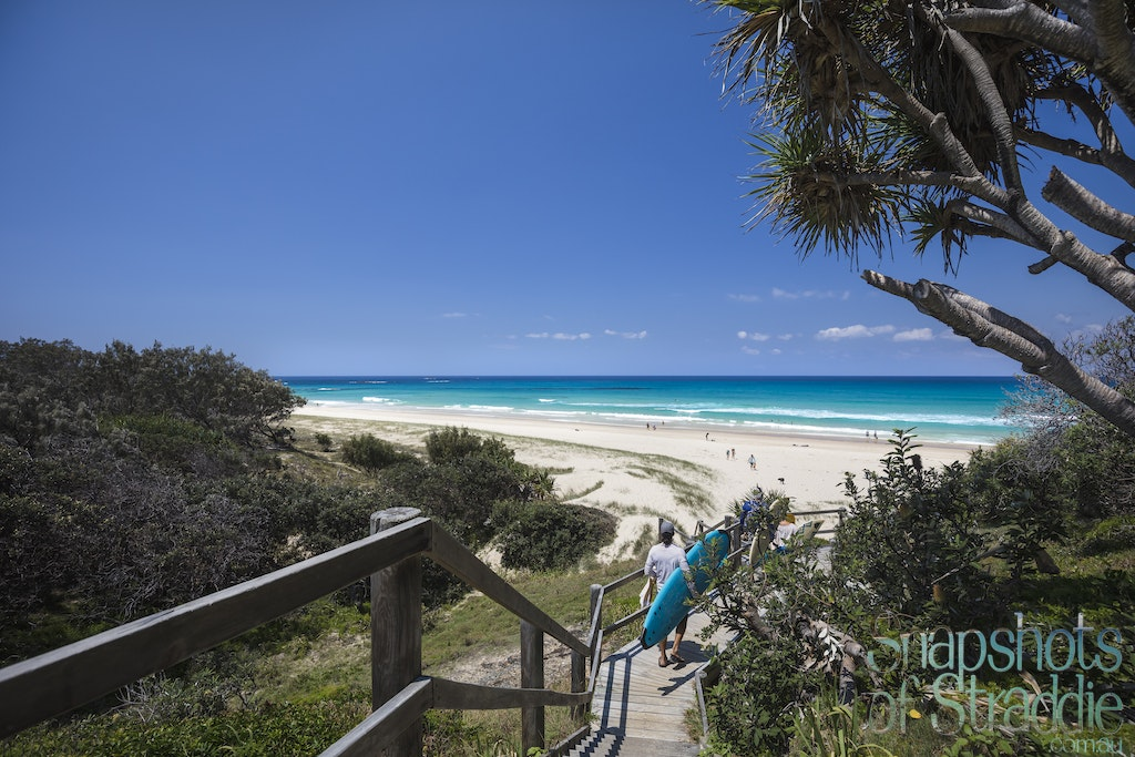 Frenchmans Beach entrance - Overlookng Frenchmans Beach - the journey down the stairs. That water looks gorgeous, stunning spring weather today.   Frenchmans...