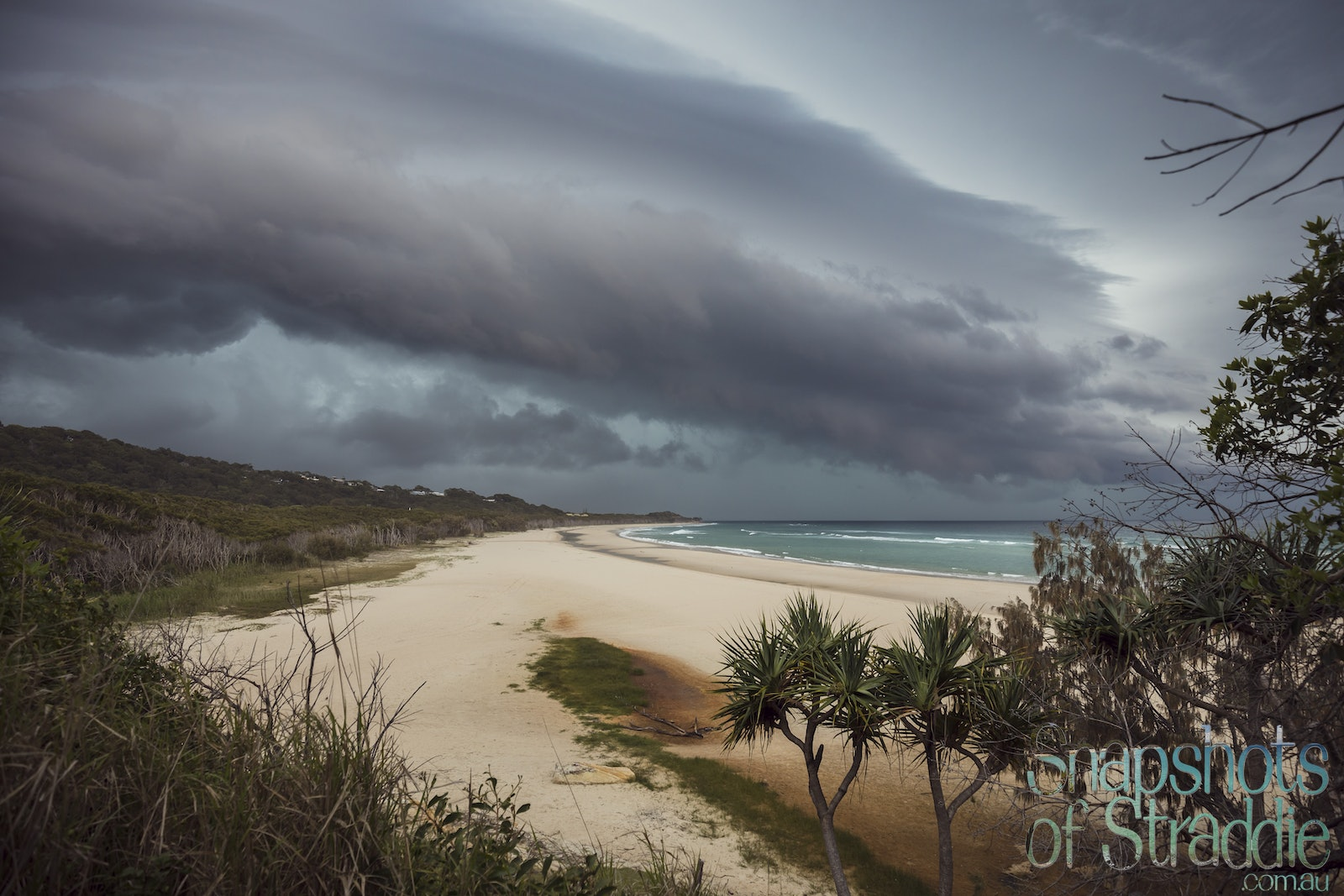 Storm approaching - Snapshots of Straddie. Wall Art Landscape and Seascape Photography by Julie Sisco. Photos from North Stradbroke Island, Queensland,...