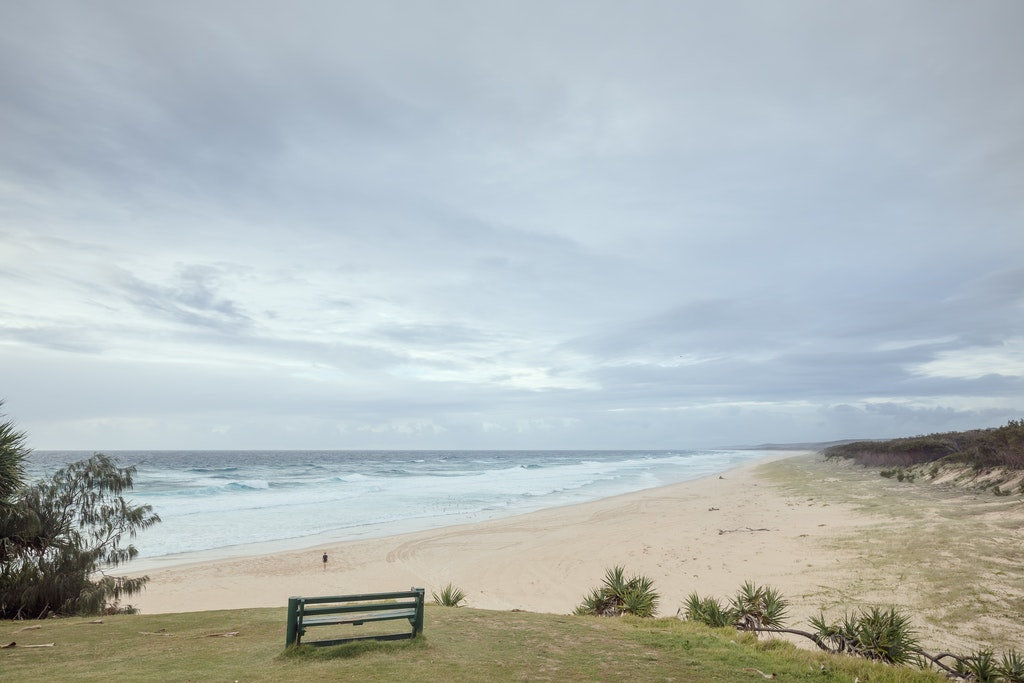 Overcast at Main - Snapshots of Straddie. Wall Art Landscape and Seascape Photography by Julie Sisco. Photos from North Stradbroke Island, Queensland,...