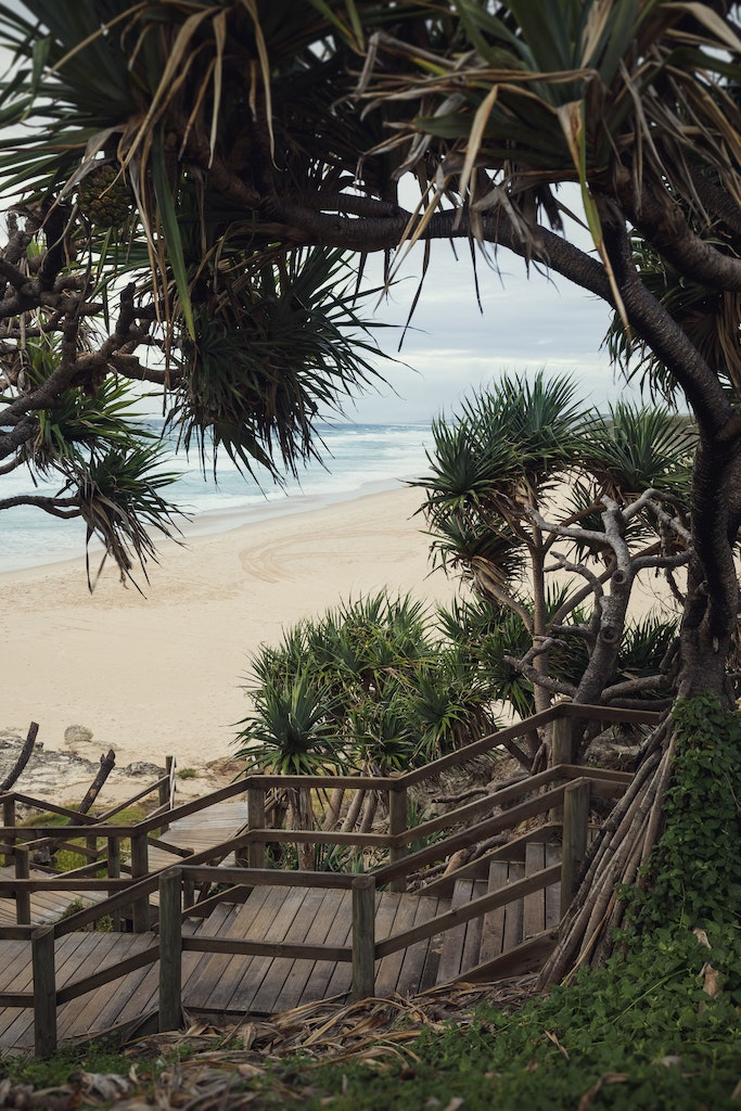 Stairway to Main - Snapshots of Straddie. Wall Art Landscape and Seascape Photography by Julie Sisco. Photos from North Stradbroke Island, Queensland,...