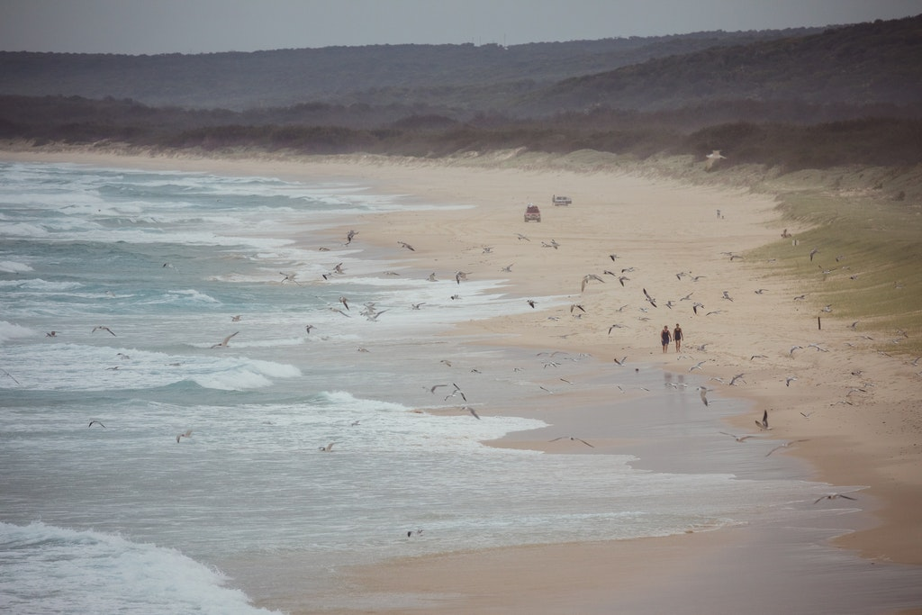 Beach stroll - Snapshots of Straddie. Wall Art Landscape and Seascape Photography by Julie Sisco. Photos from North Stradbroke Island, Queensland, Australia....