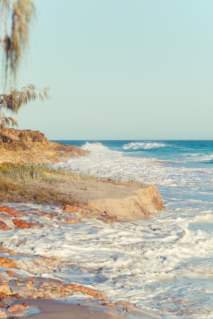 Rough at Deadies early - Snapshots of Straddie. Wall Art Landscape and Seascape Photography by Julie Sisco. Photos from North Stradbroke Island, Queensland,...