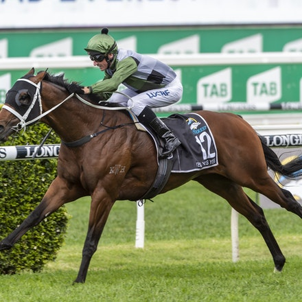 YesYesYes-BossGlen-20191019-2340 - Yes Yes Yes (Rubick - Sin Sin Sin) ridden by Glen Boss wins the 2019 TAB Everest (1200m) at Royal Randwick. 19 October...