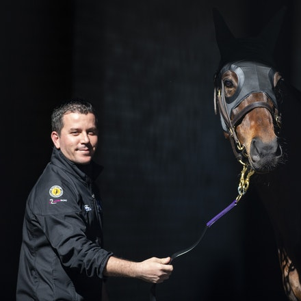 Winx-08182018-2834 - WINX arrives at Randwick before the G1 Winx Warwick Stakes.  Photo by Bronwen Healy.  The Image is Everything - Bronwen Healy Photography.