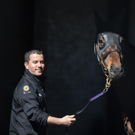 Winx-08182018-2835 - WINX arrives at Randwick before the G1 Winx Warwick Stakes.  Photo by Bronwen Healy.  The Image is Everything - Bronwen Healy Photography.