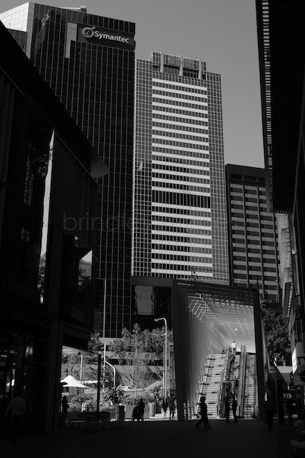 Cityscape DSCF1613 monocrome - Sydney, Australia