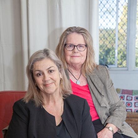 Debra and Judy portraits